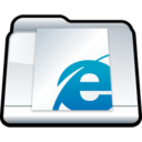 128x128px size png icon of Internet Explorer Bookmarks