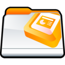 128x128px size png icon of Microsoft PowerPoint