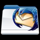 128x128px size png icon of Mozilla Thunderbird