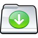 128x128px size png icon of My Downloads