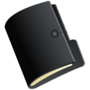 128x128px size png icon of Folder black