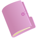 128x128px size png icon of Folder lila