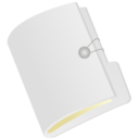 128x128px size png icon of Folder white