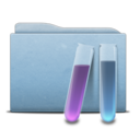 128x128px size png icon of Folder Blue Experiences
