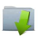 128x128px size png icon of Folder Graphite Download