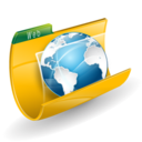 128x128px size png icon of Web