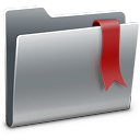 128x128px size png icon of 3D Bookmarks