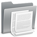 128x128px size png icon of 3D Documents