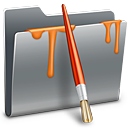 128x128px size png icon of 3D Paint