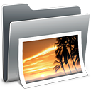 128x128px size png icon of 3D Photos