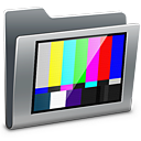 128x128px size png icon of 3D TV