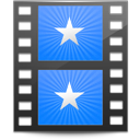 128x128px size png icon of Sidebar Movies Blue