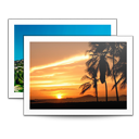 128x128px size png icon of Sidebar Photos