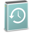 128x128px size png icon of Time Machine Disk