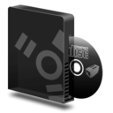 128x128px size png icon of Cd burner firewire