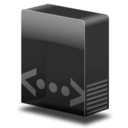 128x128px size png icon of Drive network