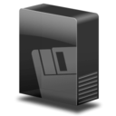 128x128px size png icon of Drive removable