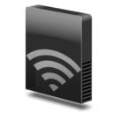Drive slim external airport Icon