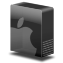 128x128px size png icon of Drive system mac