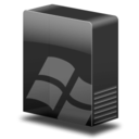 128x128px size png icon of Drive system win