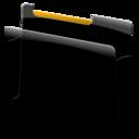 128x128px size png icon of Generic orange
