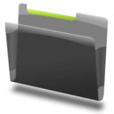 128x128px size png icon of Gereric green