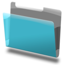 128x128px size png icon of Labeled blue 2