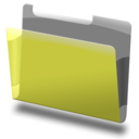 128x128px size png icon of Labeled yellow 2