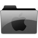 128x128px size png icon of applegeneric