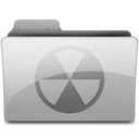128x128px size png icon of burn Grey