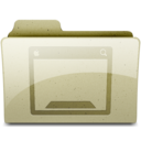 desktop Tan Icon