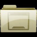 128x128px size png icon of desktop Tan