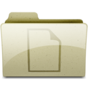 128x128px size png icon of documents Tan