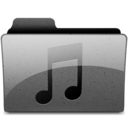 music Charcoal Icon