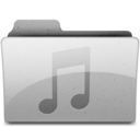 music Grey Icon
