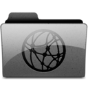 network Charcoal Icon