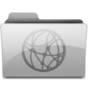 network Grey Icon