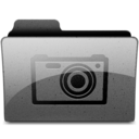 pictures Charcoal Icon