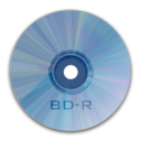128x128px size png icon of Drive BD R