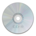 128x128px size png icon of Drive CD R