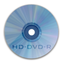 128x128px size png icon of Drive HD DVD R