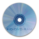 128x128px size png icon of Drive HD DVD RAM
