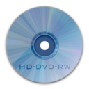 128x128px size png icon of Drive HD DVD RW