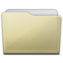 128x128px size png icon of beige folder generic