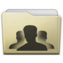 beige folder group Icon
