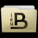 128x128px size png icon of beige folder ieub
