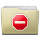 128x128px size png icon of beige folder private