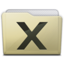 128x128px size png icon of beige folder system