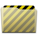 128x128px size png icon of beige folder work
