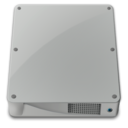 128x128px size png icon of drive internal alt